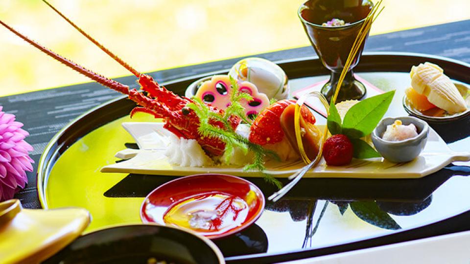 桜鶴苑の婚礼料理