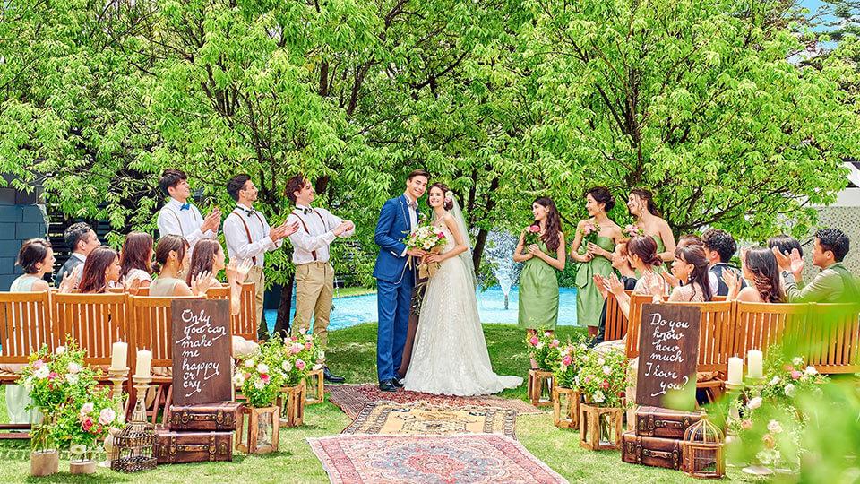 ブランレヴュー宇都宮アクアテラスの結婚式