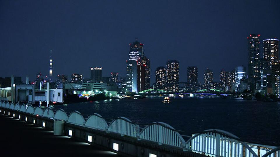 ルミアモーレから見た夜景