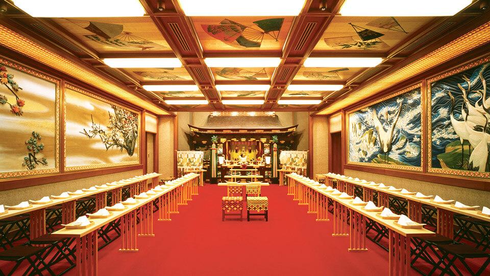 ホテル雅叙園東京の神殿