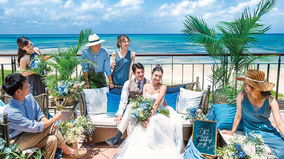 沖縄・本島 アクアグレイス・チャペルでの挙式