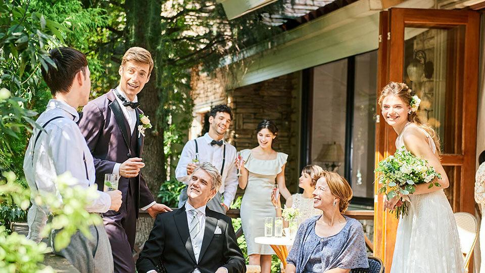 モアフィール宇都宮プライベートガーデンの結婚式