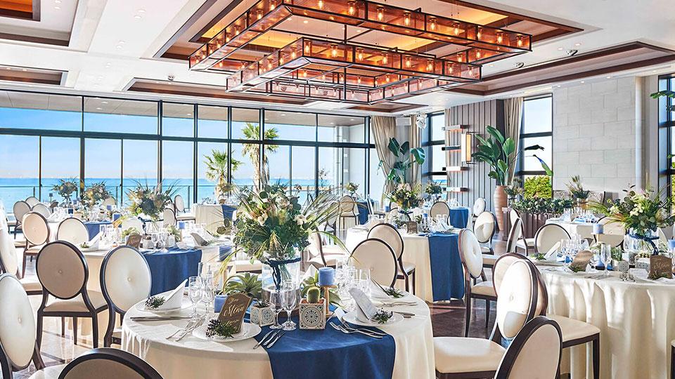 海の見える結婚式場 ザ・サーフ オーシャンテラス