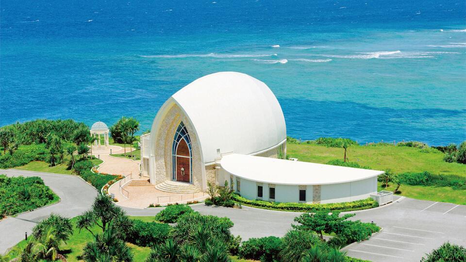 沖縄本島のアクアルーチェ・チャペル