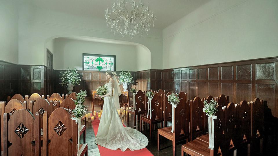 神戸北野サッスーン邸の結婚式