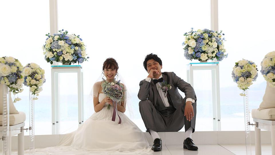 喜瀬マリンビジューチャペル挙式プラン ¥67,000(税抜)~